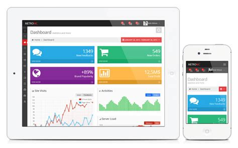 responsive mobile template metronic responsive admin dashboard template by keenthemes