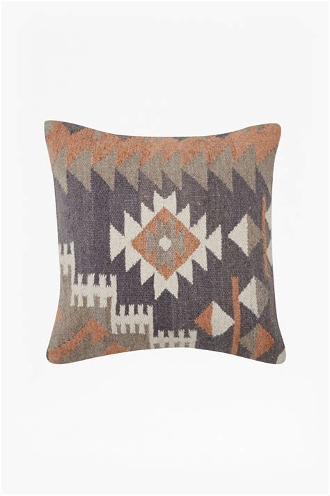 grey patterned cushions ochre grey tribal patterned cushion new arrivals