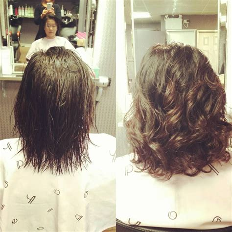 perm waves for course hair digitalperm before after thank u aireen