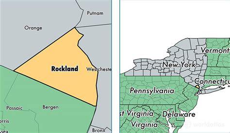 rockland county map ny rockland county new york map of rockland county ny