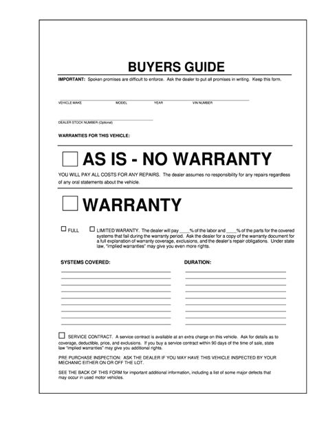 Buyers Guide Pdf - Fill Online, Printable, Fillable, Blank