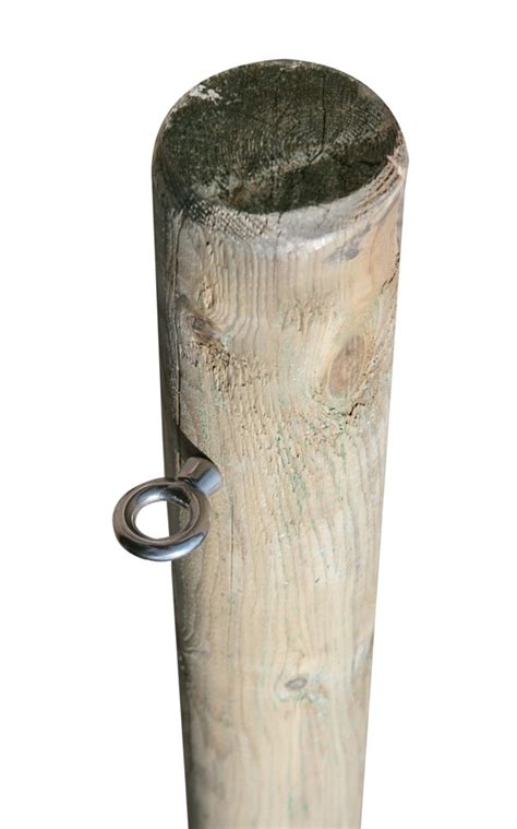 ft   wooden shade sail pole  eyebolt screw