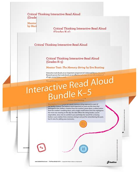 interactive read aloud lesson plan template separate is