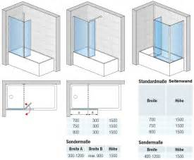 breite badewanne duschkabine badewanne 120 x 150 cm 2 teilig