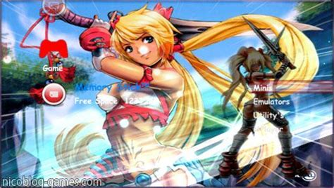 psp themes nico 6 60 best ctf themes pack 01 downloads
