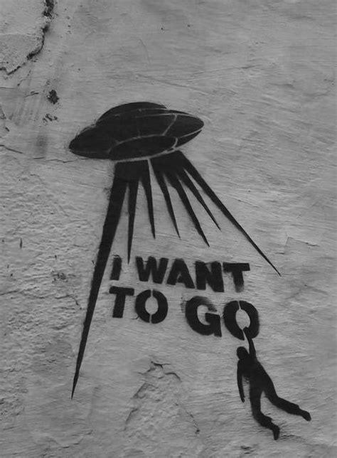 alien black  white  art image street art alien
