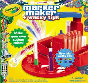 color maker crayola marker maker wacky tips toys