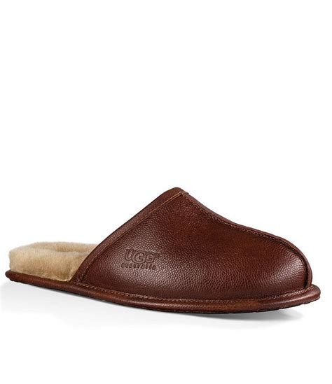 ugg house shoes for men mens ugg slippers dillards
