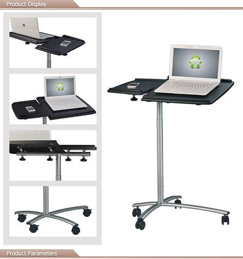 Koper Wheel Pack stevige laptop tafel vouwen flexibele laptop staan met