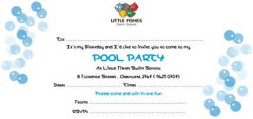 Swimming Pool Invitations Templates by Swimming Invitations Gangcraft Net