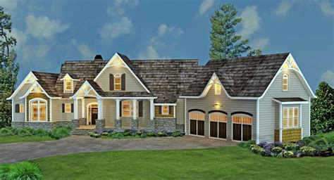 country craftsman traditional tudor house plan