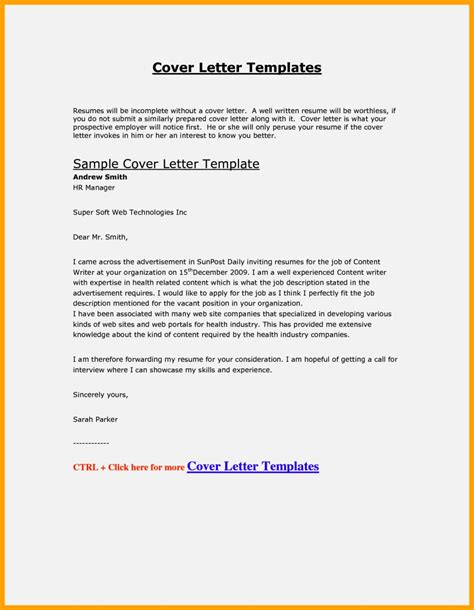 Cover Letter On Resume by Fill In Resume Cover Letter Resume Template Cover Letter