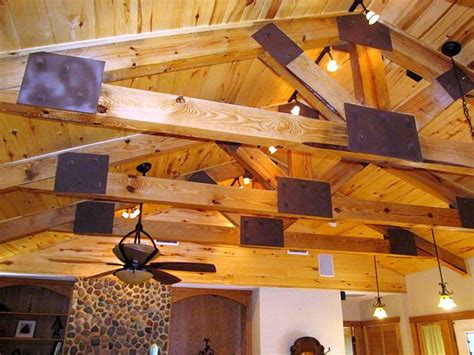 lighting for exposed beam ceilings 19 homely exposed beam ceiling rustic interior ideas