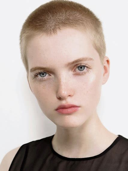 supermodels short hair the implications of very short hair the new york times