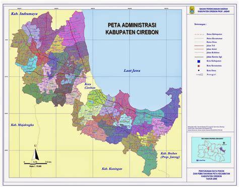 Daftar Sofa Di Cirebon pustaka arief peta kota dan kabupaten cirebon beserta 45