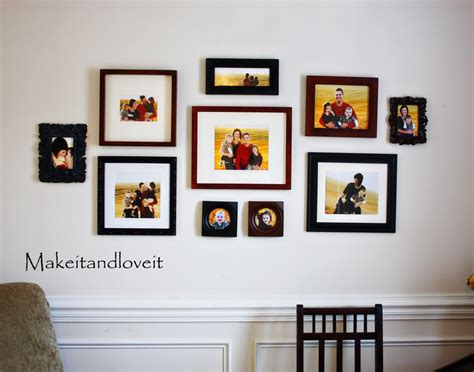 picture frame on wall picture frame wall collage layout