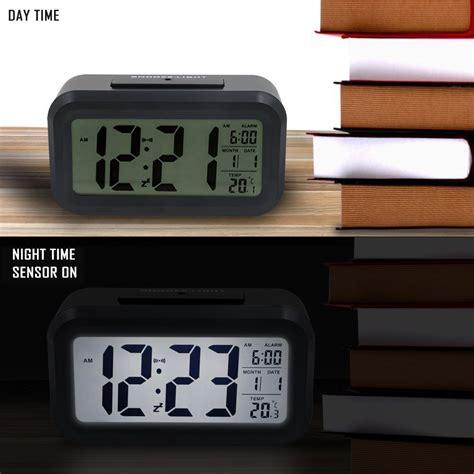 Best Bedroom Alarm Clock Best Alarm Clock Mziart 5 3 Quot Digital Alarm Clock Battery