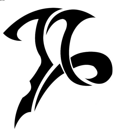 tribal capricorn symbol tattoo 55 best capricorn designs meaning is 2019