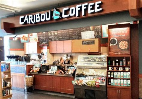 Caribou Coffee caribou coffee msp airport