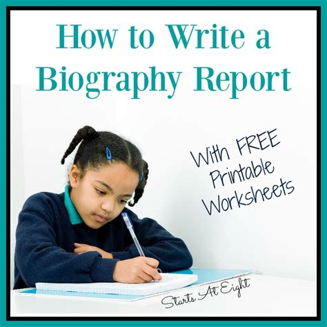 how to write a biography book report middle school startsateight