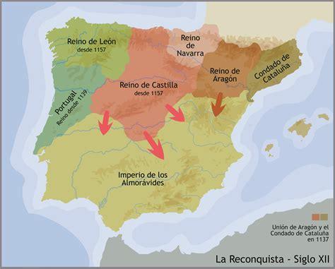 reconquista del reino de tema 3 los reinos cristianos reconquista repoblaci 243 n y organizaci 243 n social iberhistoria