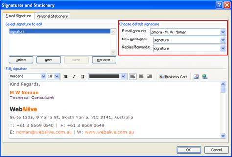 signature format email exles how do i add an email signature outlook thunderbird