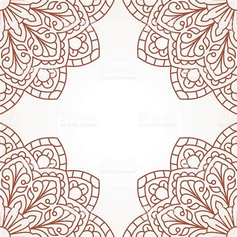 pattern mandala vector oriental pattern with mandala stock vector art more