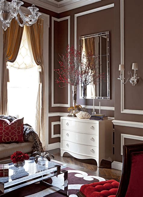 showhouse drama home design magazine how to design cozy glamor with red rugs 12 chic interiors