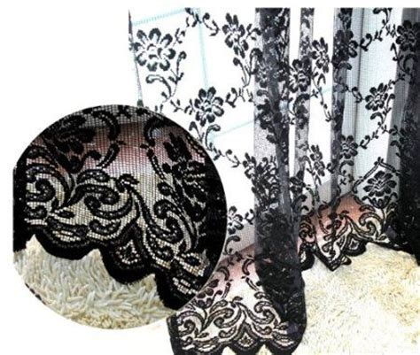 black lace curtains vintage 17 best images about curtains on pinterest window