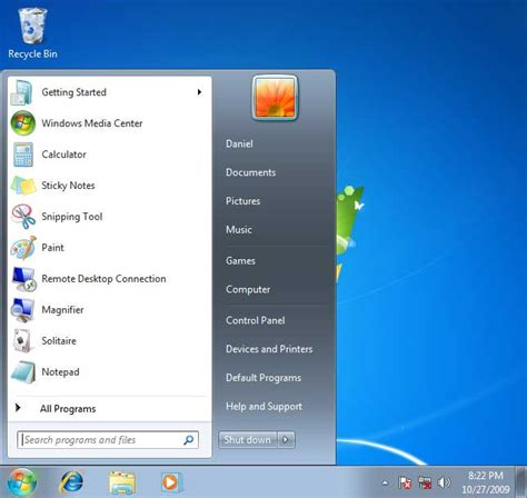 windows 7 start bar on top windows 7 first impressions unibia net