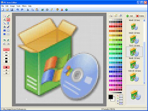 icon tools pc icon editor shareware pc icon editor