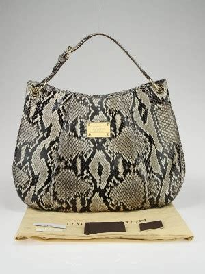 Limited Edition Python Heloise Bag by Louis Vuitton Limited Edition Python Galliera Smeralda Gm