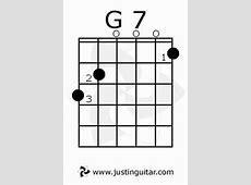G7 Chord | GUITAR CHORDS | Pinterest G 7 Chord Guitar