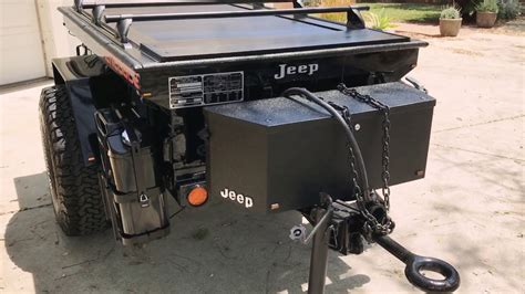 jeep trailer m416 jeep road expedition trailer with truck covers