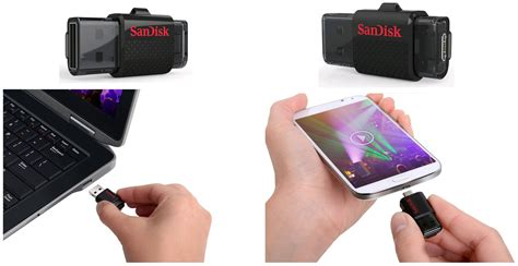 Sandisk Dual 16gb sandisk ultra dual usb drive 16gb external storage for your smartphone tablet sddd 016g