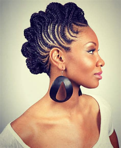 mohawk braids with 6 edgy braided mohawk hairstyles for black in 2014