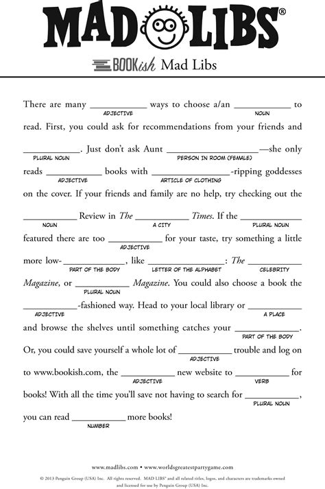 Mad Libs Letter Printable by Mad Libs For Search For