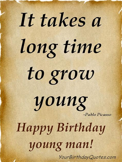 Birthday Quotes On Birthday Quotes Wishes Male Yourbirthdayquotes Com