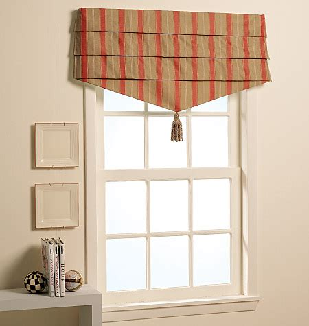 window covering patterns m5872 window treatments home decorating mccall s