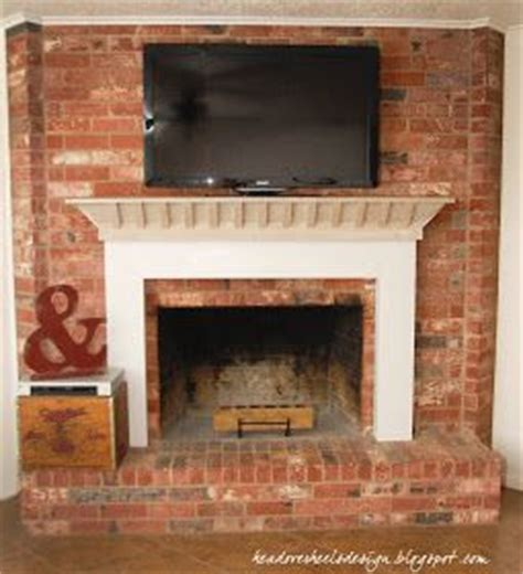 how to mount a tv on a brick fireplace home sweet home