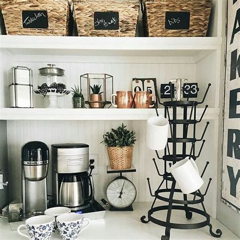 coffee nook ideas awesome the white and bakeries on pinterest