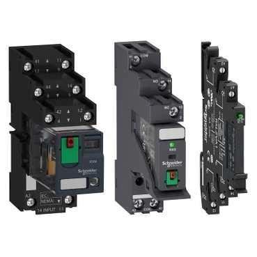 relais sockel electromechanical relay zelio relays schneider electric