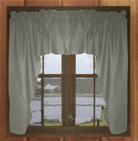 gray swag curtains solid gray or charoal gray swag window valance