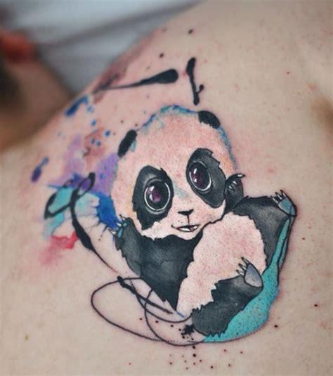 tattoo panda no pé resultado de imagen para panda tattoo eli pandas
