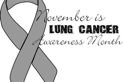 Lung Cancer Awareness Month | kzmu community radio