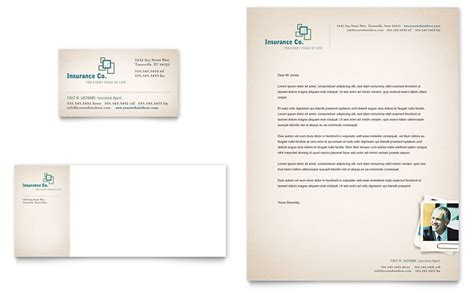 insurance card template word insurance company business card letterhead template