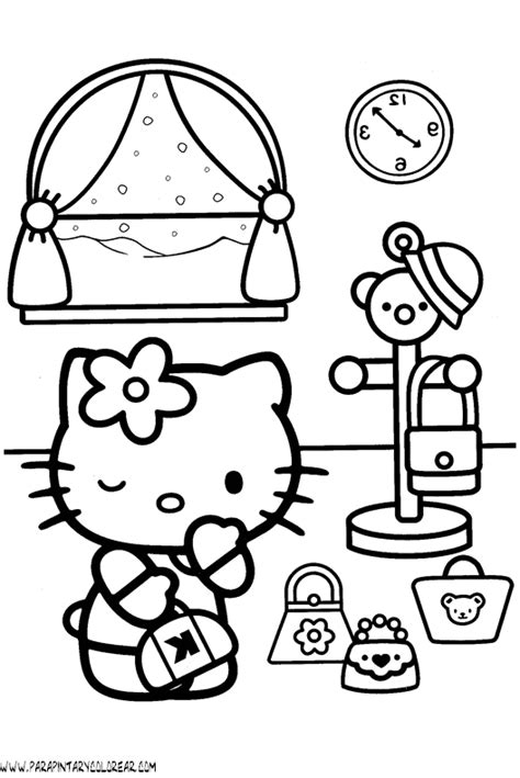 dibujos para pintar hello kitty hopi kachina doll coloring page sketch coloring page