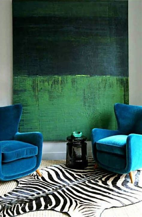 emerald green mountain home decor color clash emerald and teal emily henderson