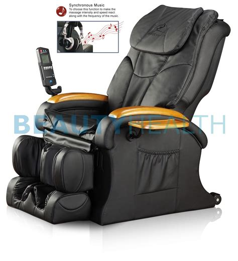 Air Recliner by Chair Shiatsu Recliner 29 Air Mp3 Jade Heat Ebay