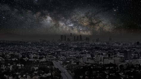 Sky Without Light Pollution by What City Skies Would Look Like Without Light Pollution